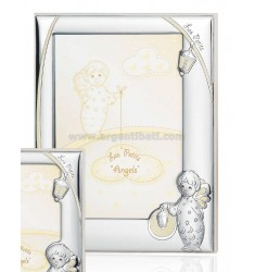 CORNICE ANGELO C/LANTERNA LUMINESCENTE CM 13X18 R/LEGNO ARG.