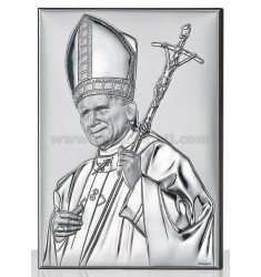 ICON JOHN PAUL II CM 9X13 R / WOOD ARG