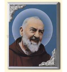 PANEL C / PRESS SANTO PADRE PIO CM 10X15 R / WOOD ARG
