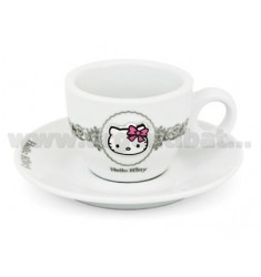 SET TAZZINE X 2 PORCELLANA ALL FASHION HELLO KITTY