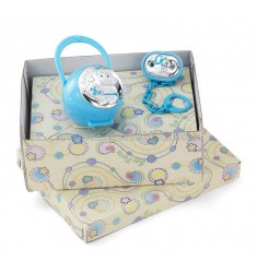 BOX BABY PACIFIER HOLDER PINS ARG.