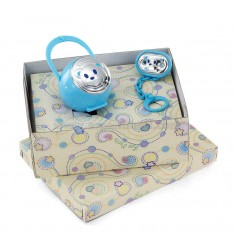 PACIFIER HOLDER PINS PACKAGE BEAR ARG.