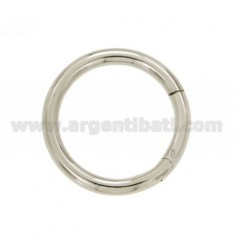 30 MM ROUND CLOSURE SMARTER IN REED 3,7 AG RHODIUM TIT 925 ‰
