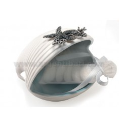 SHELL BEACH DECOR WITH STELLA MARINA.10X8 CM.5