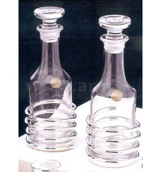 OIL AND VINEGAR SINGLE TUBE SPIRALEH.CM 17.5 METAL SILVER