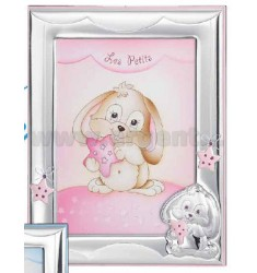 Frame BUNNY C / STAR CM 13X18 R / WOOD BIL.
