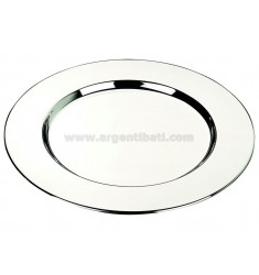PLATE SMOOTH 30.5 CM IN SILVER PLATED