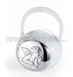 PACIFIER BOX ANGELS ROUND LAM.