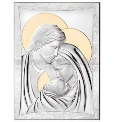 HOLY HOLY FAMILY C / CM GOLD 33x44 R / WOOD LAM.AG