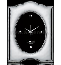 INTERNAL CLOCK VINTAGE GLOSSY OVAL 10X15 CM R / WOOD LAM AG