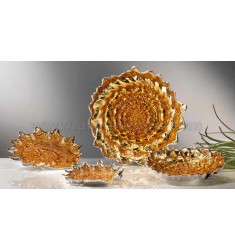 AMBER SILVER SHELL BOWL 29 CM 999/1000