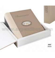 ALBUM 20X25 CM 50 ° C / BOX ARG.