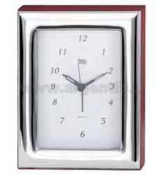 CLOCK CM 9X13 GLOSSY R / WOOD ARG.