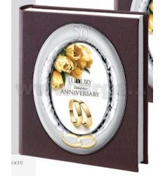 SYLVIE 50th ANNIVERSARY ALBUM 25X30 CM C / Frame 13X18 CM LEATHER LAM.