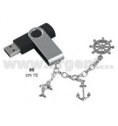 8GB USB PEN C / MARINE CHARMS