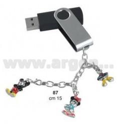 8GB USB PEN C / CHARMS BABY