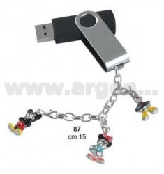 PENNA USB 8GB C/CHARMS BABY