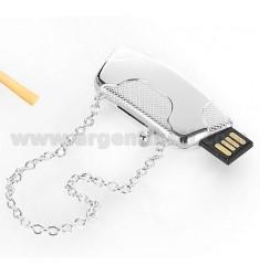 BORSETTA CON CHIAVE USB 4 GB ARG.