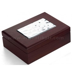 BIG BOX 20X15X8 CM WOODEN PLAQUE MACULATA BIL AG