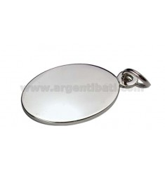PLATE OVAL CM 2X3 METAL