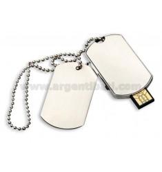 4 GB USB KEY CHAIN MILITARY