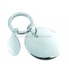 RONDO PLUS WITH KEY RING SILVER PLATE