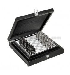 CHESS GAME WITH BOX WOOD 26x26 CM