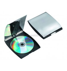 CONTAINER PORT 2 CD SILVER