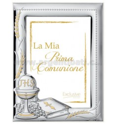 Frame HOLD MY FIRST COMMUNION CM 13X18 R / WHITE WOOD ARG.