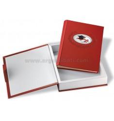 ALBUM 20X25 CM MY GRADUATION WITH RED BOX ARG.