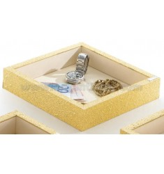 Cubby GOLDEN WOOD LAM 23X23X5 CM.AG