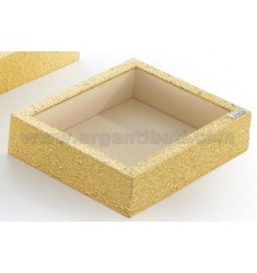 Cubby GOLDEN WOOD LAM 16X21X5 CM.AG