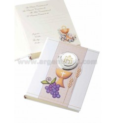 COMMUNION ALBUM 20X25 CM COLOURED LAM.AG