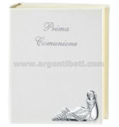 ALBUM COMUNIONE CM 20X25 CON CALICE UVA VANGELO E DIARIO BIL. AG
