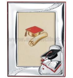 Frame DEGREE CM 9X13 R / RED WOODEN PLAQUE BILAMINATED AG