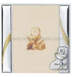 Frame A DAY COMMUNION CM 20X20 R / WHITE WOOD PLAQUE BILAMINATED AG