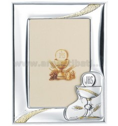Frame COMMUNION CM 9X13 R / WHITE WOOD PLAQUE BILAMINATED AG