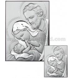 ICON THE HOLY FAMILY SATIN CM 4X6 ARG.