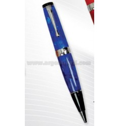 PEN ACRYLIC BLUE WITH MEMORY 4 GB USB TO 15 CM