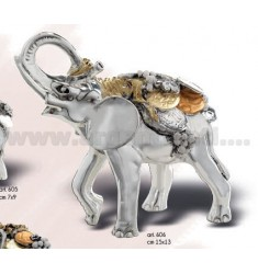 MONEY GOLD ELEPHANT 3 ^ CM SIZE 15x13 ARG.