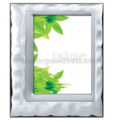 Frame LARGE L &39WATER WITH MIRROR 18X24 CM SATIN R / WOOD ARG.