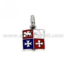 Republics MARITIME PENDANT IN SILVER AND ENAMEL 925 ‰