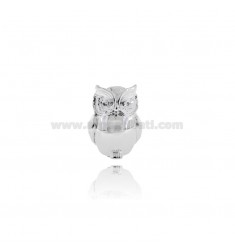 OWL MEDIUM POLISHED 5X4 CM.3.5.H 5.5