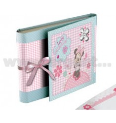 ALBUM LOVE MINNIE ROSA CM 15X20 CON DIARIO E PORTA CD ARG.