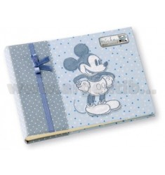MICKEY BLUE ALBUM 15X20 CM ARG.