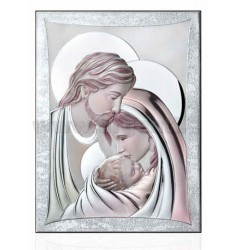 HOLY HOLY FAMILY COLORED CM 33x44 R / WOOD LAM.AG