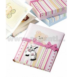 SHOES WITH PINK ALBUM 20X25 CM DIARY LAM.AG