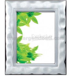 Frame LARGE L &39WATER SATIN 18X24 CM R / WOOD MIRROR WITH ARG.