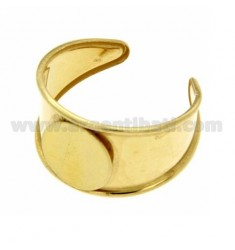 RING IN SILVER GOLD PLATED 925 ‰