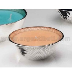 SALMON WITH BOWL 13.5 CM SCENT CANDLE BAMBOO &39SILVER 999/1000